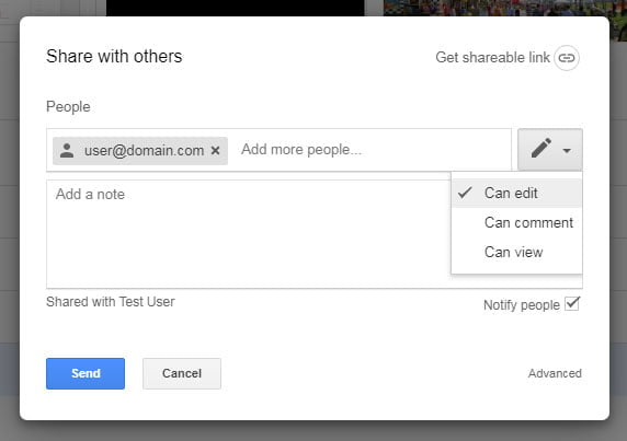 share with other google drive