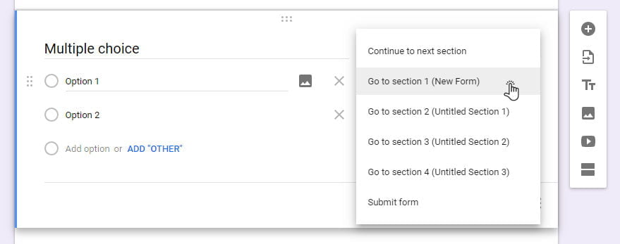 Multiple Choice Template Word from howtogoogleapps.com