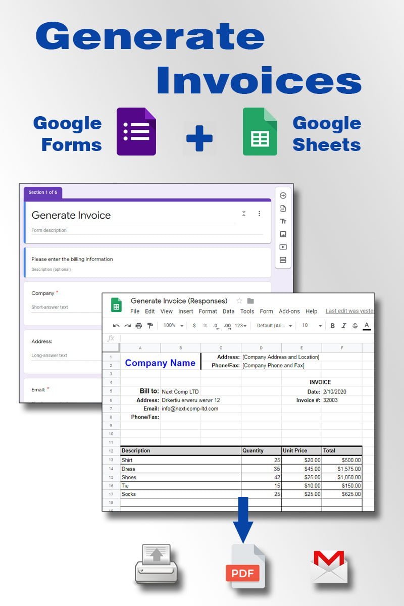 Google Sheets Invoice Template from howtogoogleapps.com
