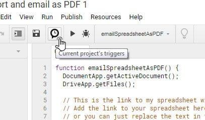 create-project-triggers-Google-Script